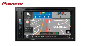 PIONEER AVIC-Z630BT: 2-DIN Navigationssystem mit Apple CarPlay, CD/DVD & Bluetooth