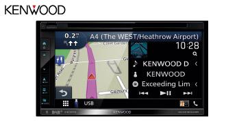 Kenwood DNX5190DABS: 2-DIN Navigationssystem