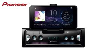 PIONEER SPH-20DAB: Smartphone Autoradio mit DAB+, USB, Bluetooth · Konnektivität für iPhone und Android
